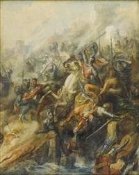 crusade battle by de belly