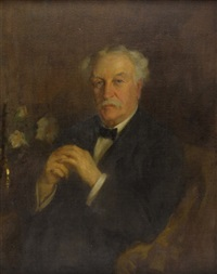 portrait of a gentleman by wilton robert lockwood