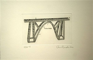the master builder (from the portfolio of 13 works) by chris burden