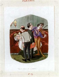 damn it, lorenzo, not so romantic! (playboy cartoon illus.) by john dempsey