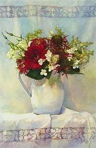 arrangement in white by deborah l. chabrian