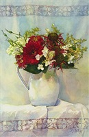 arrangement in white by deborah l. chabrian