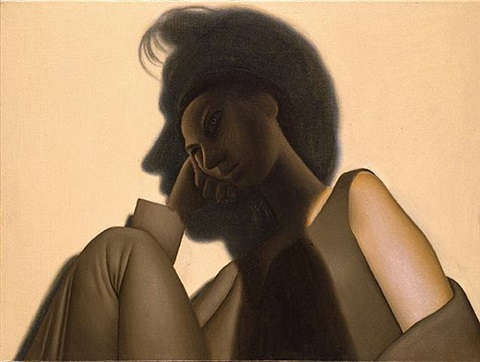 woman in shadow by alexi worth