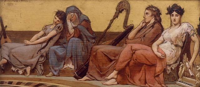 the music lesson by frederick arthur bridgman