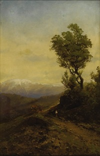 mountain road by carl von perbandt