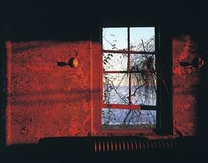 recreation room, sunset, ellis island by stephen wilkes