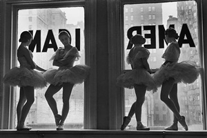 intermission at the american ballet, new york city by alfred eisenstaedt