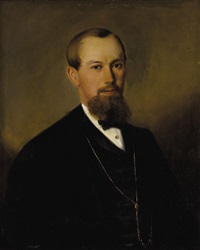 portrait of ernst hansy by joseph nitschner