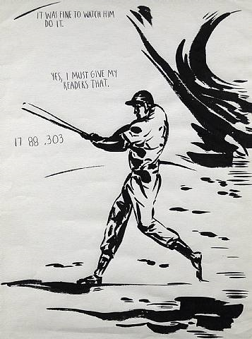 untitled (it was fine . . . ) by raymond pettibon