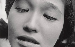 o shima eiko, actress in the film shiiku (priz stock) by shomei tomatsu
