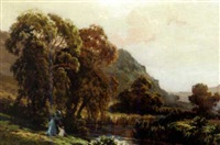 mountain landscape by w.b. henley