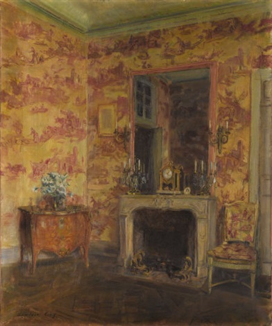 the pink room le breau by walter gay