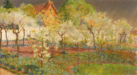 giverny orchard by mary fairchild macmonnies low