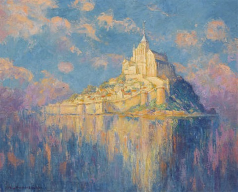 mont saint michel by mary louise fairchild low