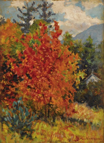 autumn leaves by mary louise fairchild low