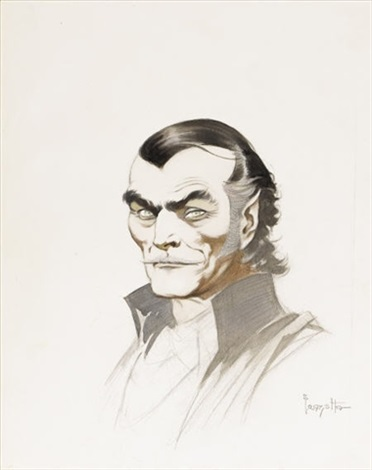 count dracula movie concept art for a dracula film by frank frazetta