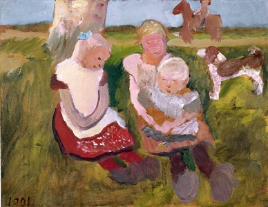 kinder in der kunst children in modern art by paula modersohn-becker