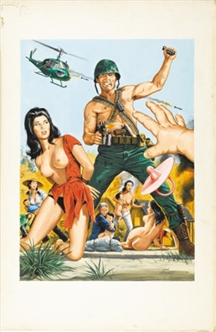 the dink patrol and the love slaves of xuyan than phu illus for national lampoon by bruce minney