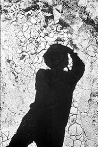 untitled (wall and artist's shadow) by daido moriyama
