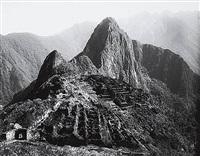 machu picchu view, peru, 1923 by martín chambi