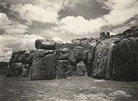sacsayhuaman c. 1930s by martín chambi