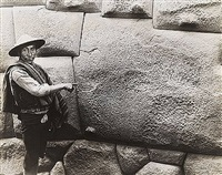 twelve point stone, cuzco, peru c. 1890 by martín chambi