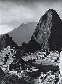 machupicchu c. 1920's by martín chambi