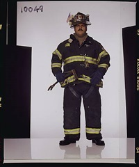 bill butler, firefighter, ladder 6, fdny by joe mcnally