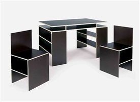 desk set by donald judd
