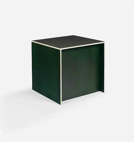 stool #1 with recessed front by donald judd
