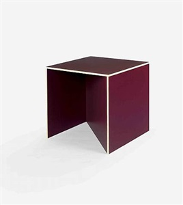 stool #2 with angle by donald judd