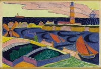 houses along the coast by andre alexeyevich jawlensky