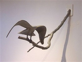 flying eagle maquette by gwynn murrill