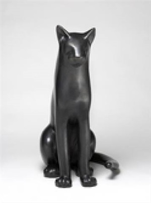 big sitting cat 1 by gwynn murrill