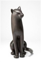 big sitting cat 4 by gwynn murrill