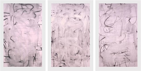 three women by christopher wool