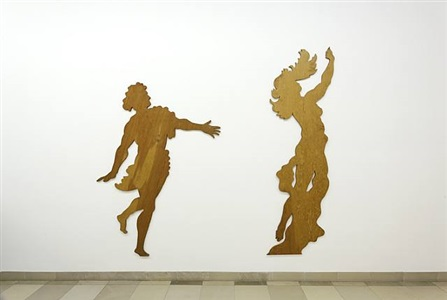 unique: apollo and daphne (with keith brookwell) by ian hamilton finlay
