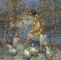 <i>springtime</i> by dorothea sharp