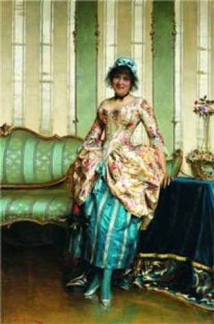 an elegant maid by charles soulacroix