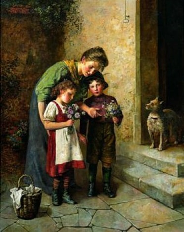 posy for mother by edmund adler