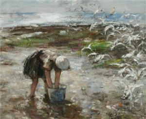 feeding the gulls by robert gemmell hutchison