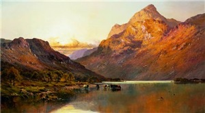 the valley of ben by alfred de breanski sr