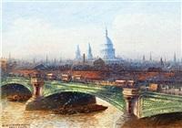 no 68. blackfriars bridge by frederick edward joseph goff