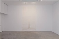 installation view: untitled (stick) by toba khedoori
