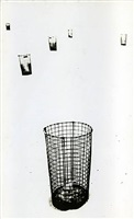 untitled (wire trash receptacles) by marvin newman