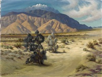 untitled - southwest landscape by axel linus