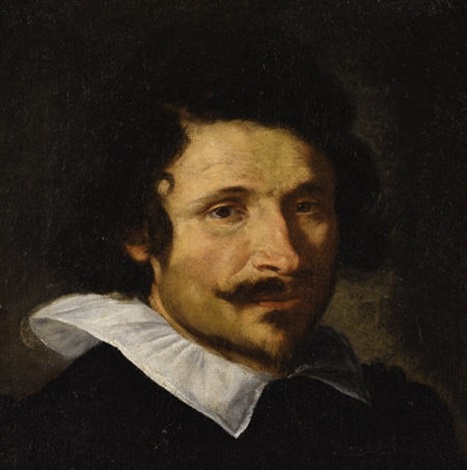 portrait of a man pietro da cortona by gian lorenzo bernini