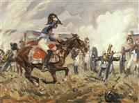 1813 (szene aus den napoleonischen kriegen) by angelo jank