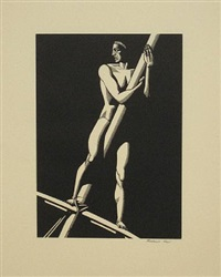 lookout by rockwell kent