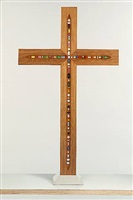 <!--46-->the crucifix by damien hirst